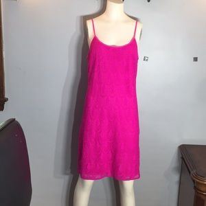Lily Pulitzer summer dress crochet lace size L
